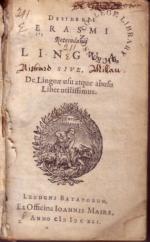 Lingua, Sive, De Linguae usu atque abusu Liber utilissimus
