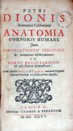 Anatomia Corporis Humani, Juxta Circulationem Sanguinis & recentiores Observationes