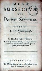 Musae Subsecivae seu Poetica Stromata