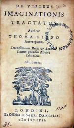 De Viribus Imaginationis Tractatus