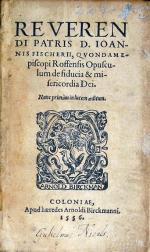 Opusculum de fiducia & misericordia Dei. Nunc primùm in lucem aeditum