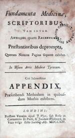 Fundamenta Medicinae, Scriptoribus, tam inter Antiquos quam...