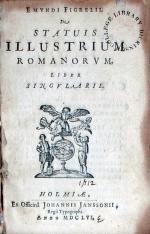 De Statuis Illustrium Romanorvm