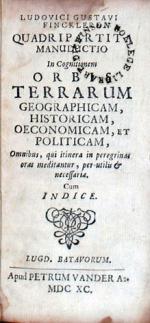 Quadripartita Manductio In Cognitionem Orbis Terrarum Geographicam...