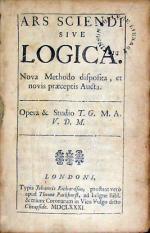 Ars Sciendi Sive Logica