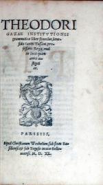 Institvtionis grammaticae (Liber Secundus.)