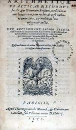 Arithmeticae Practicae Methodvs facilis