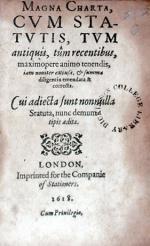 Magna Carta, Cvm Statvis Tvm antiquis, tûm recentibus
