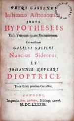 Institutio Astronomica, Juxta Hypotheseis Tam Veterum quam Recentiorum...