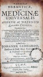 Panaceae Hermeticae, Seu Medicinae Universalis Assertio...