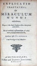 Explicatio Tractatuli, Qui Miraculum Mundi inscribitur