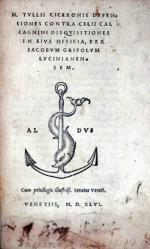 M. Tulli Ciceronis defensiones contra Celii Calcagnini...