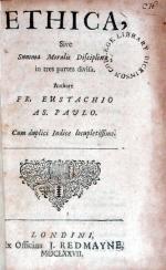 Ethica, Sive Summa Moralis Disciplinae, in tres partes divisa