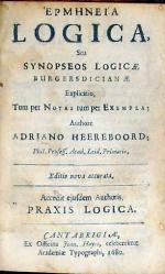 Ερμηνεια Logica, Seu Synopseos Logicae Burgersdicianae ..Editio nova