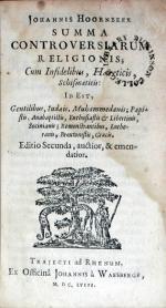 Summa Controversiarum Religionis; Cum Infidelibus, Haereticis, Schismaticis