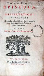 Epistola, Qva Dissertationi D. Balsaci Ad Heroden Infanticidam...