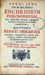 Enchridion Philosophicum, Seu Aphorismi naturalis cognitionis humanae...