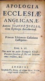 Apologia Ecclesiae Anglicanae