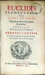 Elementorum Ex Libri Priores..Editio secunda
