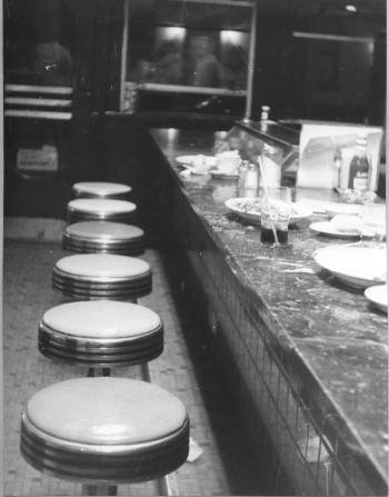 Commerce Diner Counter