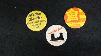 Feminist and Activism Buttons