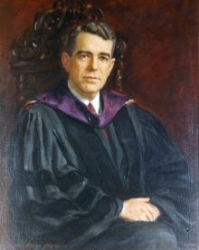 Portrait of Fred Pierce Corson
