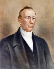 Portrait of Samuel Blanchard How