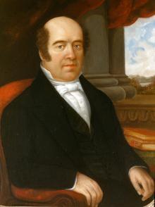 Portrait of Jesse Truesdell Peck