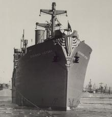 S.S. Dickinson Victory, 1945