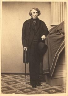 Carte de visite of Roger Brooke Taney