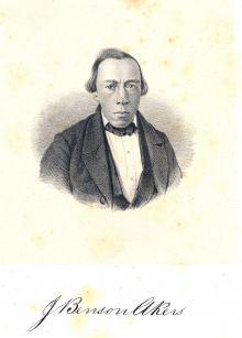 Joseph B. Akers, 1858