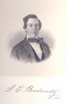 Joseph E. Broadwater, 1858