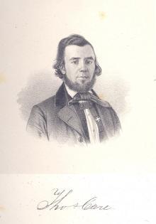 Thomas Care, 1858