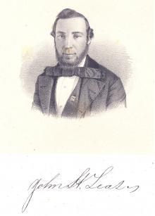 John H. Lease, 1858