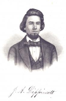Joshua A. Lippincott, 1858
