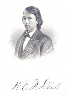 William E. F. Deal, 1859