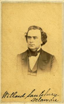 Willard Saulsbury, c.1860