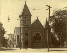 Allison Memorial Methodist Church, c.1895