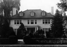 Alpha Chi Rho House, c.1960