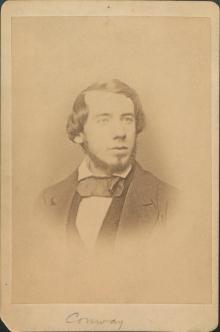 Moncure Daniel Conway, 1853