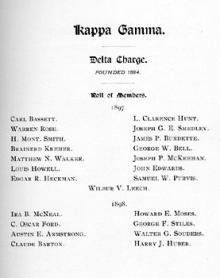 Kappa Gamma