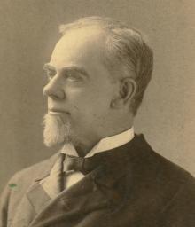 John Fletcher Hurst, c.1885