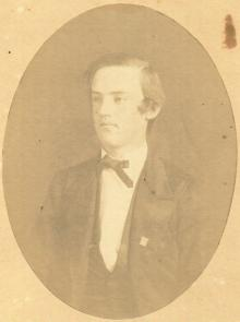 Philip Auld Harrison Brown, 1860