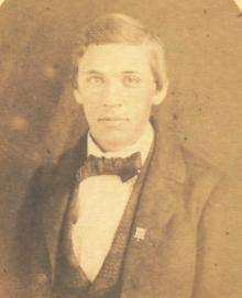 Thomas Morris Gunn, 1860