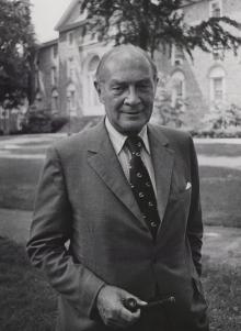 President Howard Lane Rubendall, c.1965