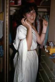 Toga costume, c.1982