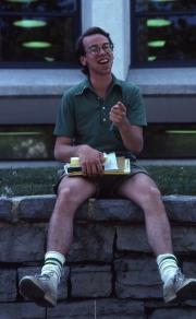 Boy smiles, c.1982