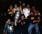 Students with a keg, c.1983