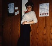 A girl poses, c.1983