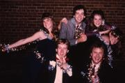 A group of friends pose, c.1983